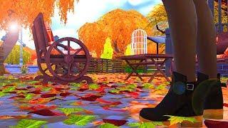 Teen Fall Morning Routine || The Sims 4 || Machinima