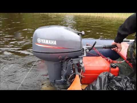 обкатка лодочного мотора ямаха для активного