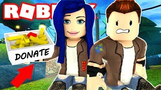 I'M SO POOR AND HUNGRY!! WILL ANYONE HELP US? ROBLOX TROLLING!