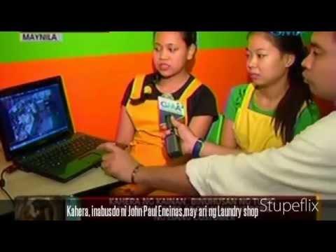 John Paul Encinas nanakit ng kahera sa isang restaurant sa Maynila