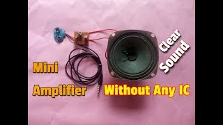 How To Make An Mini Powerful Amplifier..Mini Amplifier For MP3 Players,Smartphones And For Laptops..