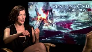 Resident Evil: Retribution (2012) Exclusive Interview: Milla Jovovich (HD)