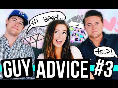 GUY ADVICE FOR GIRLS #3!