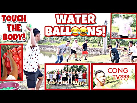 Xxx Mp4 TOUCH THE BODY CHALLENGE W CONG TV WATER BALLOONS EDITION 3gp Sex