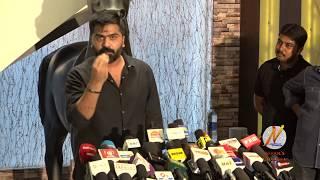 Simbu's Press Meet On Cauvery Issue