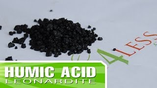 How to make your own Humic Acid Fertilizer