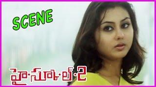 High School 2 Telugu Scene - Namitha , Raj Karthik