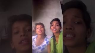 Funny video by two girls