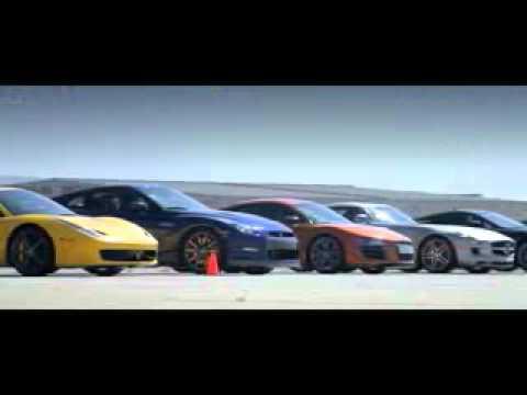 Racha com os carros mais potentes do mundo