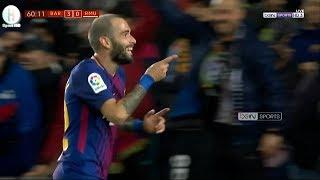 اهداف مبارة برشلونة و ريال مورسيا | 5-0  | كأس ملك إسبانيا |  29-11-2017 | HD
