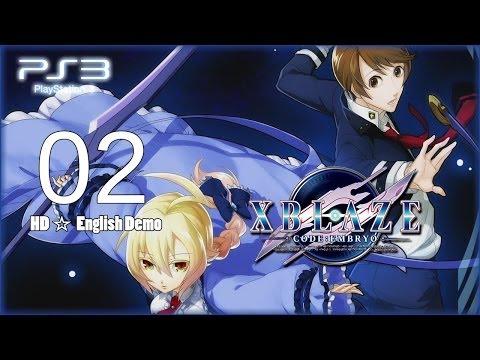 XBlaze Code: Embryo 「English version」 - Demo Pt.2