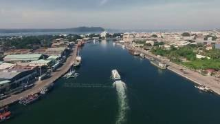 An Aerial View of the Enchanting Iloilo River