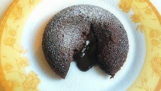 চুলায় চকলেট লাভা কেক - How to make Chocolate Lava Cake on stove