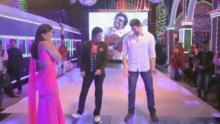 Mahesh Babu with SRK.