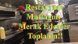 Amerikan Mutfağında Bir Türk& Mutfakta Geçen Bir Gün