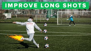 HOW TO IMPROVE LONG SHOTS | Score 35m Goals