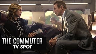 "The Commuter (2018 Movie) Official TV Spot ""Doesn't Belong"" - Liam Neeson, Vera Farmiga"