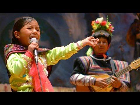 Sorprendente niña talento Deysi del Peru Palomachata uywakurani parte 1 2