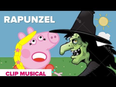 Desenho da Rapunzel História Para Dormir Infantil de Ninar Bruxa Má Voando Desenho Animado Completo