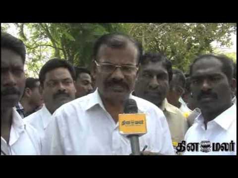 Teachers in Tamilnadu on Rally in Chennai - Dinamalar March 8th 2015 Tamil Video News