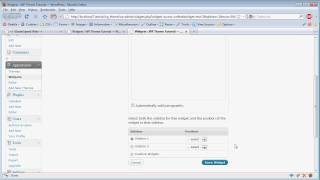 Wordpress Theme Tutorial: Part 7b - Multiple Sidebars