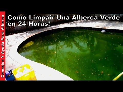 Como Limpiar Una Alberca Verde Parte Una De Dos