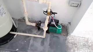 Pressure pump installation user guide.