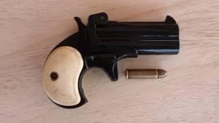Pistola de bolsillo Derringer Excam Hialeah Fla TA 38 cal. sp 38