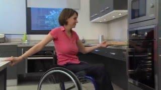 Engelliler İçin Tasarlanmış İşlevsel Mutfak