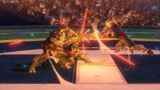 Teenage Mutant Ninja Turtles Mutants in Manhattan: All Scenes +Bosses +Secret Final Boss(PS4/1080p)