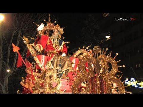 Los Reyes Magos de Oriente visitan Albacete y participan en la cabalgata de Reyes
