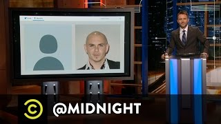 Over Sleazy - The Death of the Twitter Egg - @midnight with Chris Hardwick