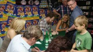 Andrew Lloyd Webber's production of  The Wizard of Oz cd signing at Dress Circle