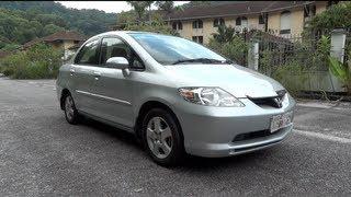 2003 Honda City i-DSI Start-Up, Full Vehicle Tour and Quick Drive