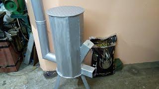 Piec rakietowy na pellet  / Pellet Rocket Stove