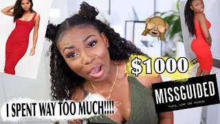 I SPENT $1,100 ON MISSGUIDED! WTF DID I SPEND SO MUCH? AUTUMN, BACK TO SCHOOL/ WORK & SHOES