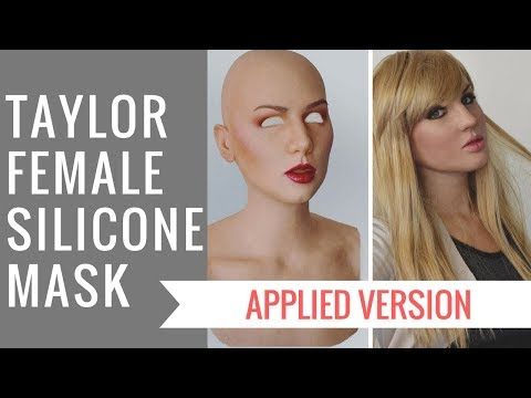 Taylor Silicone Mask Applied Version New by Crea Fx