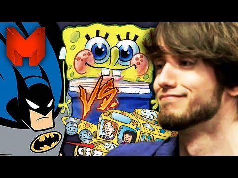 The BEST 90s Cartoons? Spongebob Squarepants vs Batman vs The Magic School Bus - Madness