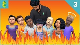 The Sims 4 - SEVEN Toddler Challenge - Part 3