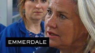 Emmerdale - Joanie Calls Jai An Egomaniac And Quits Her Job