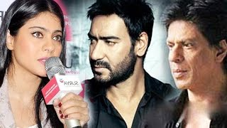 Kajol Finally Reveals TRUTH About Shah Rukh Khan and Ajay Devgn's Friendship