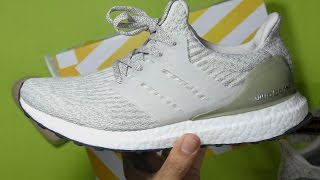 adidas Originals Ultra Boost 3.0 LTD (grey / off white) Free Shipping