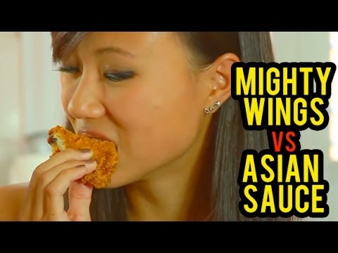 ASIAN MEAL TIME Mighty Wings VS Asian Sauces