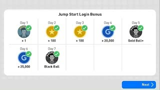 Black Ball Bonus On New Account