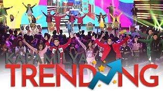 "Kapamilya teen dance idols dance to ""Bboom Bboom."""