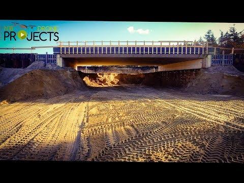 Spoor viaduct N18 bijna klaar N18 Drone Projects
