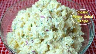 How to Make Potato Salad - Classic American Potato Salad Recipe