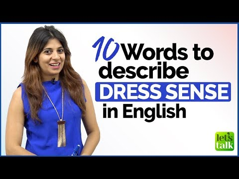 Xxx Mp4 Talking About Someone's DRESS SENSE English Vocabulary Lesson For Beginners Amp Advanced Level 3gp Sex