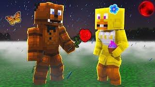 Minecraft FNAF - A SAD LOVE STORY in Five Nights At Freddy