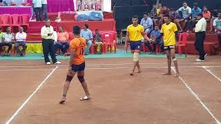JAI SHIV(BADLAPUR) vs GOLPHADEVI(MUMBAI) STATE LEVEL JUNIOR KABADDI MATCH 2018....part 1